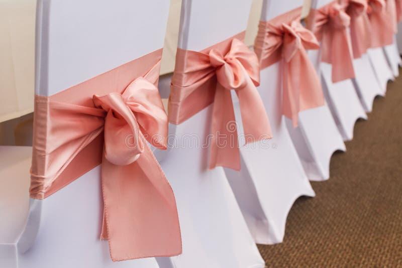 Różowe katedry weselne zdjęcie royalty free