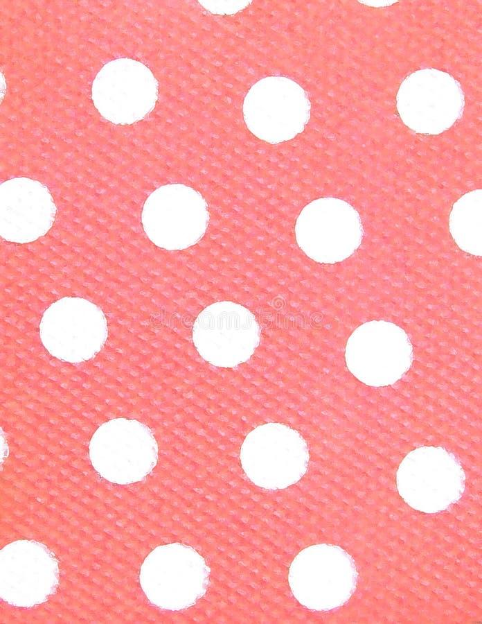 Download Różowe kropek białe tło ilustracji. Ilustracja złożonej z tekstura - 128443
