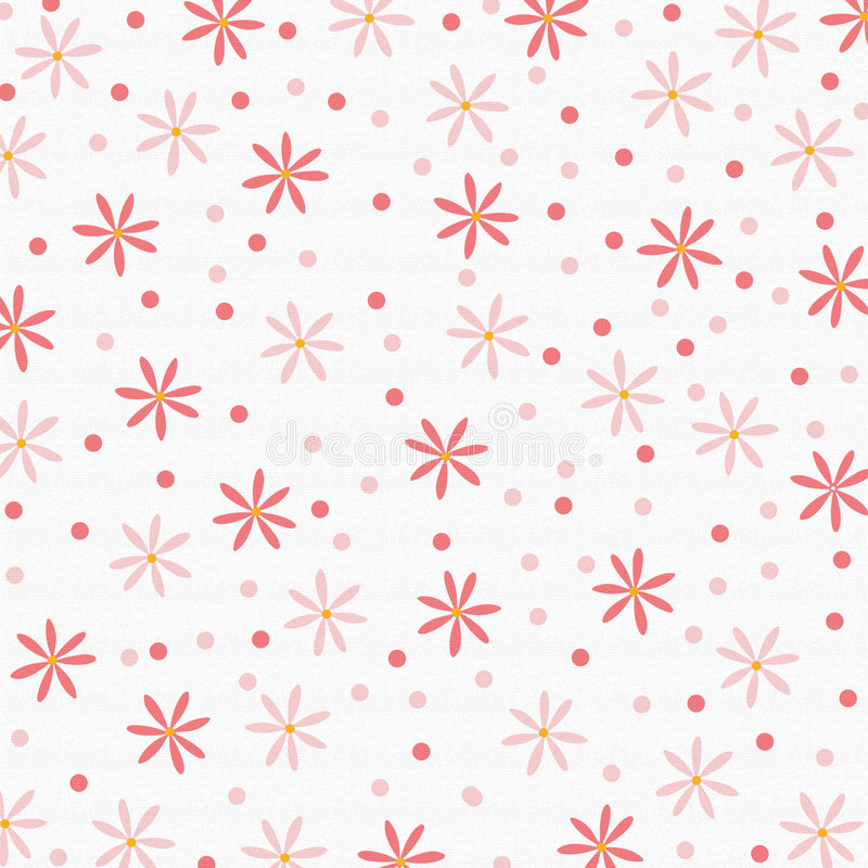 różowe kwiaty tło royalty ilustracja