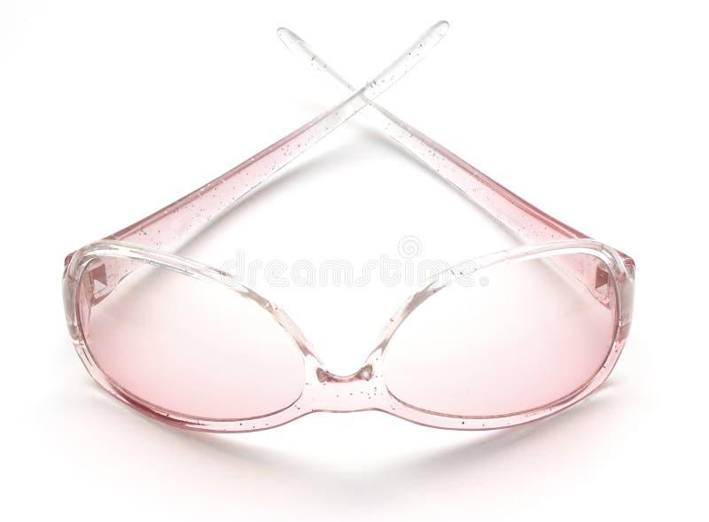 różowe okulary przeciwsłoneczne obraz royalty free