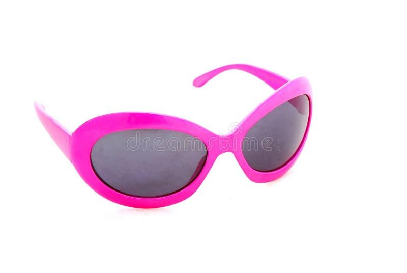 różowe okulary przeciwsłoneczne fotografia royalty free