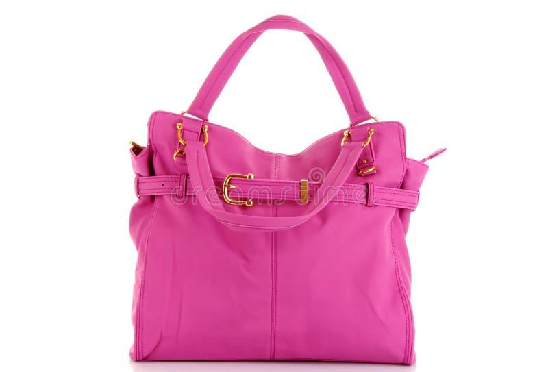 różowe toreb kobiety fotografia royalty free