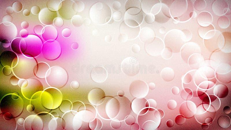 Różowego płatka graficznej sztuki projekta Tapetowy Piękny elegancki Ilustracyjny tło ilustracja wektor