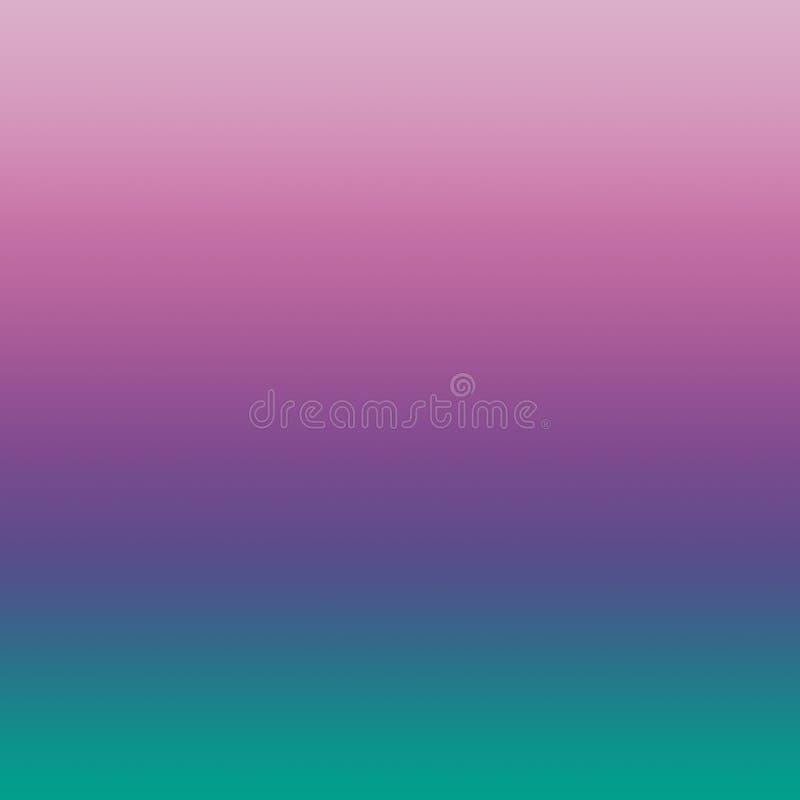 Różowego Ultrafioletowego Lawendowego wiosna krokusa Arcadia Zamazany Gradientowy Minimalny tło ilustracja wektor