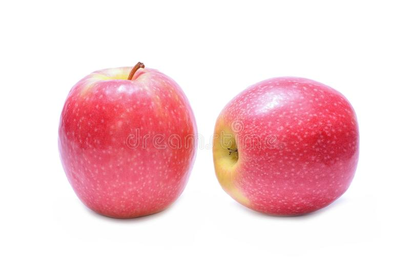 Różowej damy jabłka zdjęcia stock