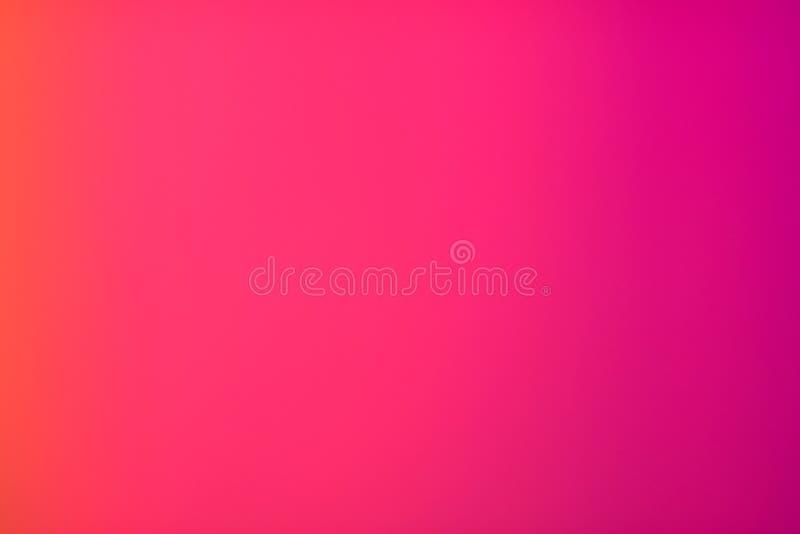 Różowej gradacji Podstawowy kolor zdjęcia stock