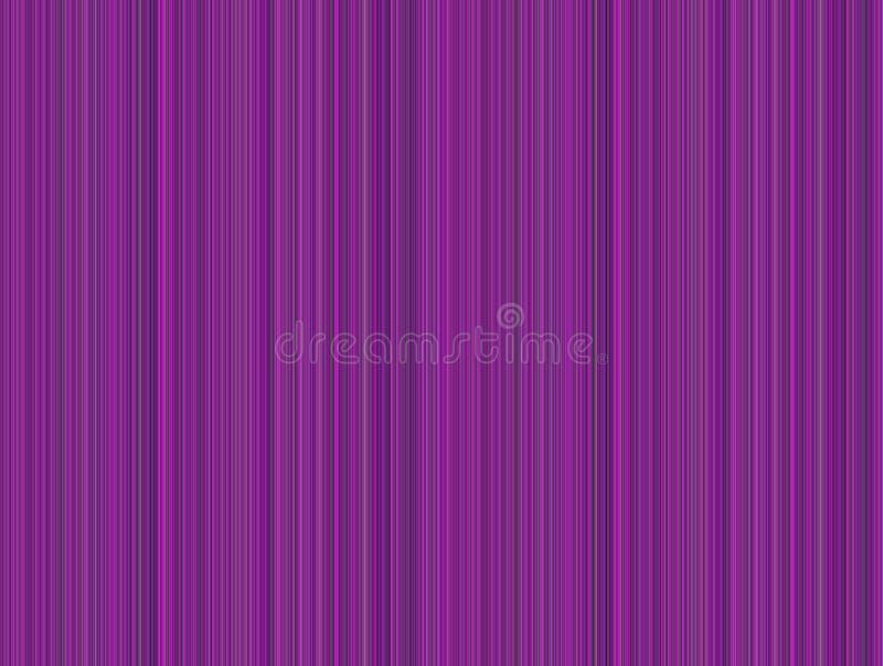 Różowej purpury zieleni Pasiasty tło ilustracji