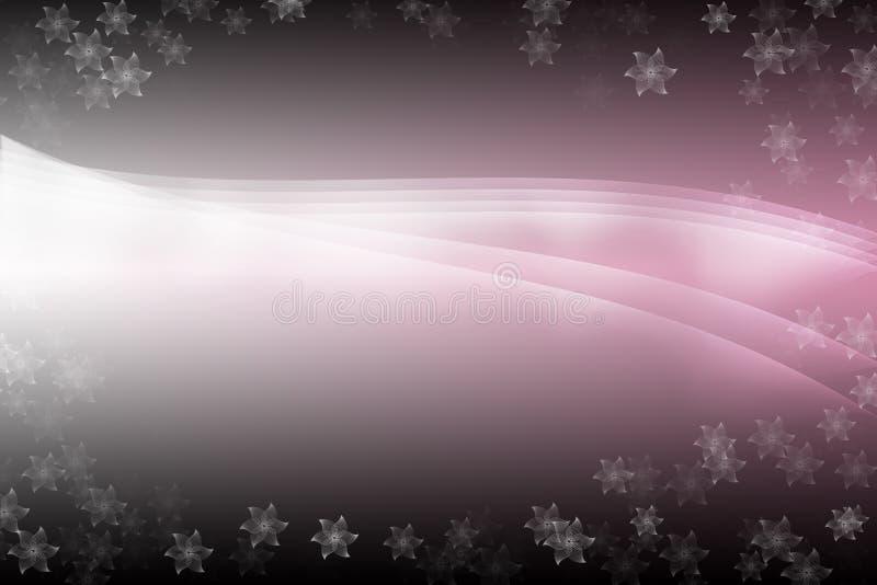 Download Różowy ładny Abstrakcjonistyczny Tło Z Kwiatów Wzorami, Ilustracji - Ilustracja złożonej z ładny, szablon: 41955504