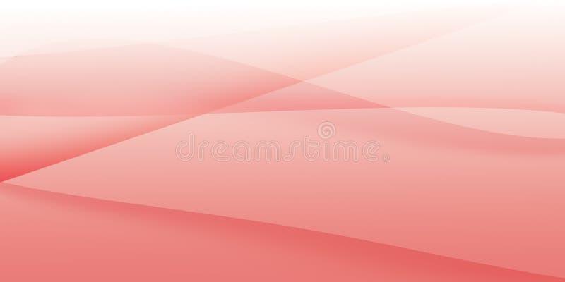 Różowy abstrakcjonistyczny tło projekt obrazy stock