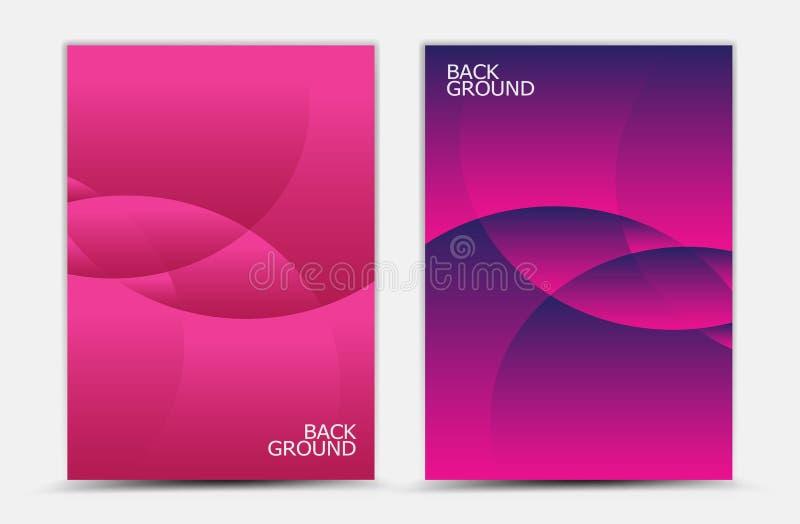 Różowy abstrakcjonistyczny tło wektor, okładkowy szablon, biznesowa ulotka, sieci tekstura, graficzny projekt ilustracja wektor