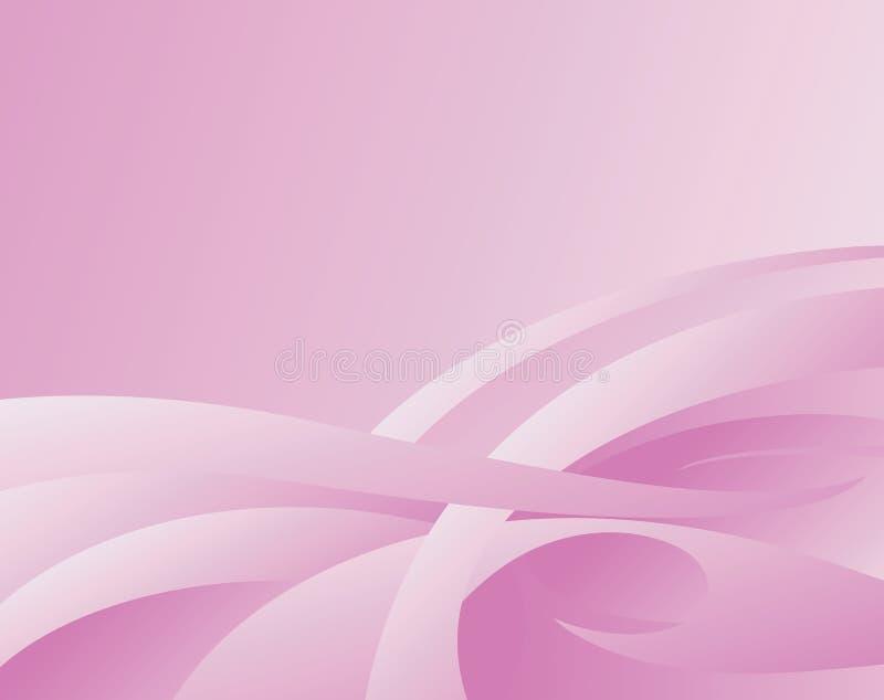 różowy abstrakcyjnych tło ilustracji