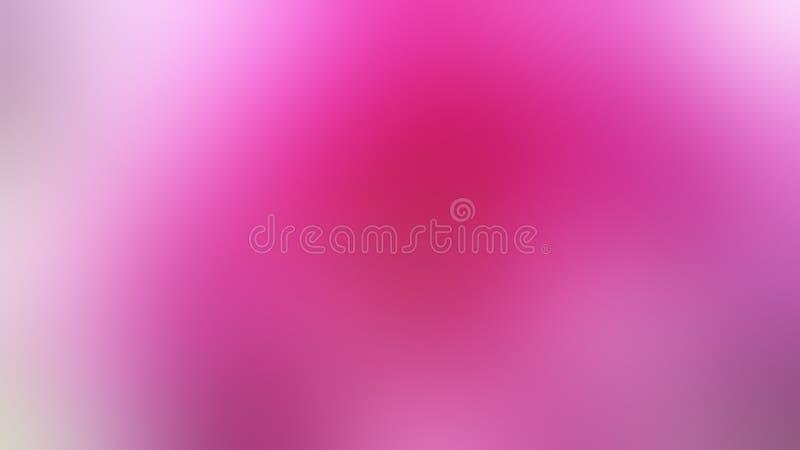 Różowy abstrakt blured tło menchia kwiat royalty ilustracja
