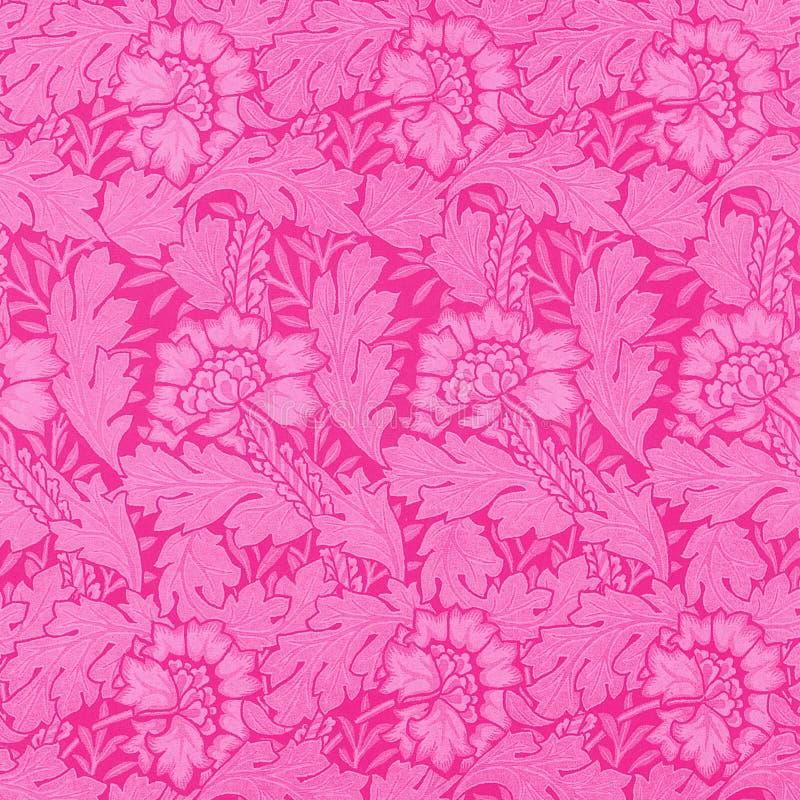 różowy adamaszkowe ilustracji