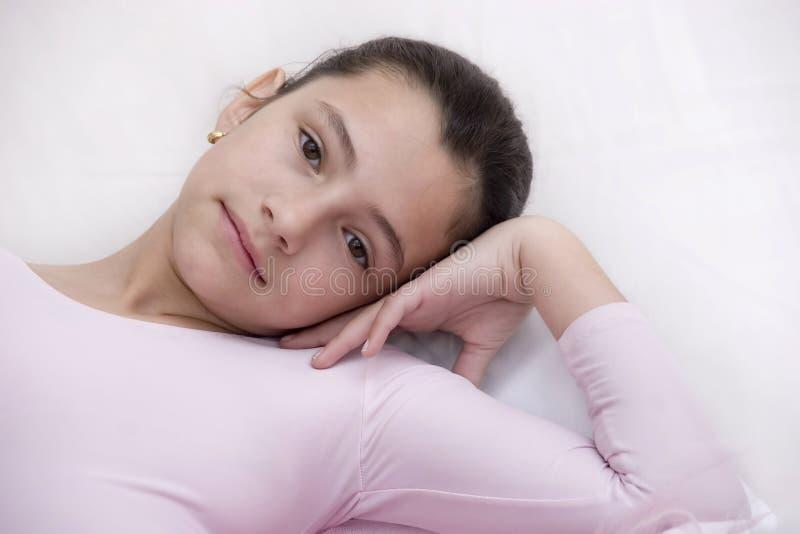 różowy balerin zdjęcia royalty free