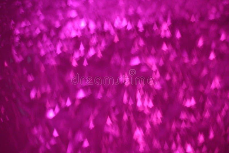 Różowy choinki bokeh tło, Różowy bokeh abstrakcjonistyczny doskonalić dla walentynki ` s dnia tła przychodzić zdjęcie stock