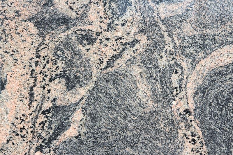 Różowy czarny granit fotografia stock