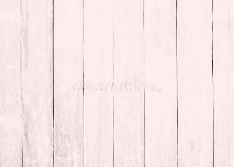 Różowy drewniany podłogowy tekstury tło  obraz stock