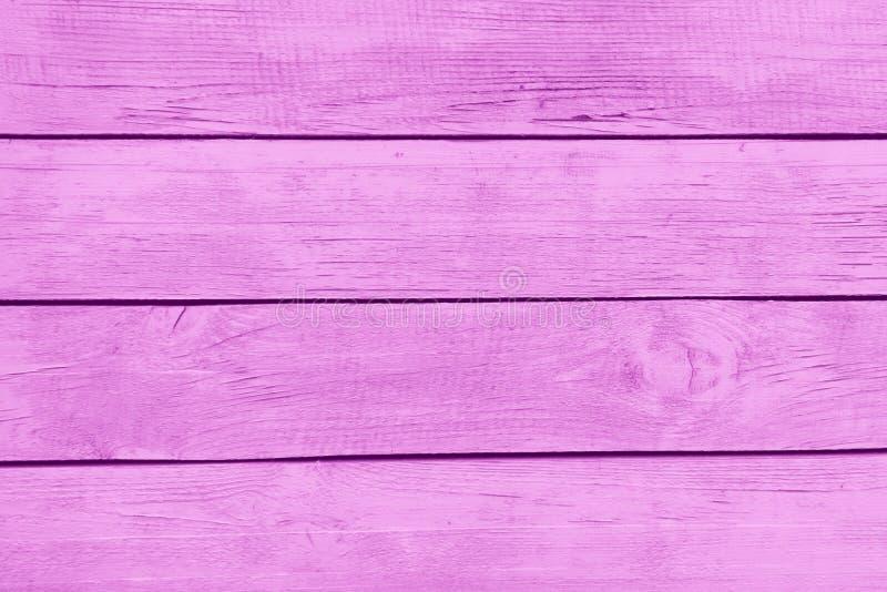 Różowy drewniany tekstury tło fotografia royalty free