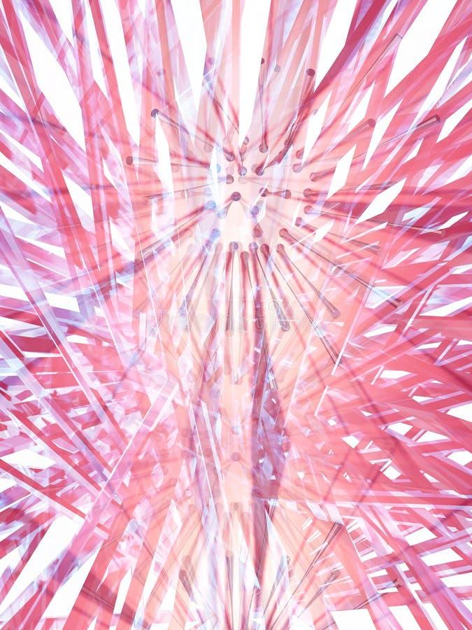 różowy dyfuzji ilustracji