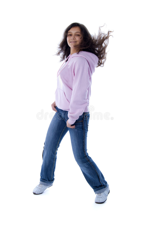 różowy dziewczyna nastolatek obrazy stock