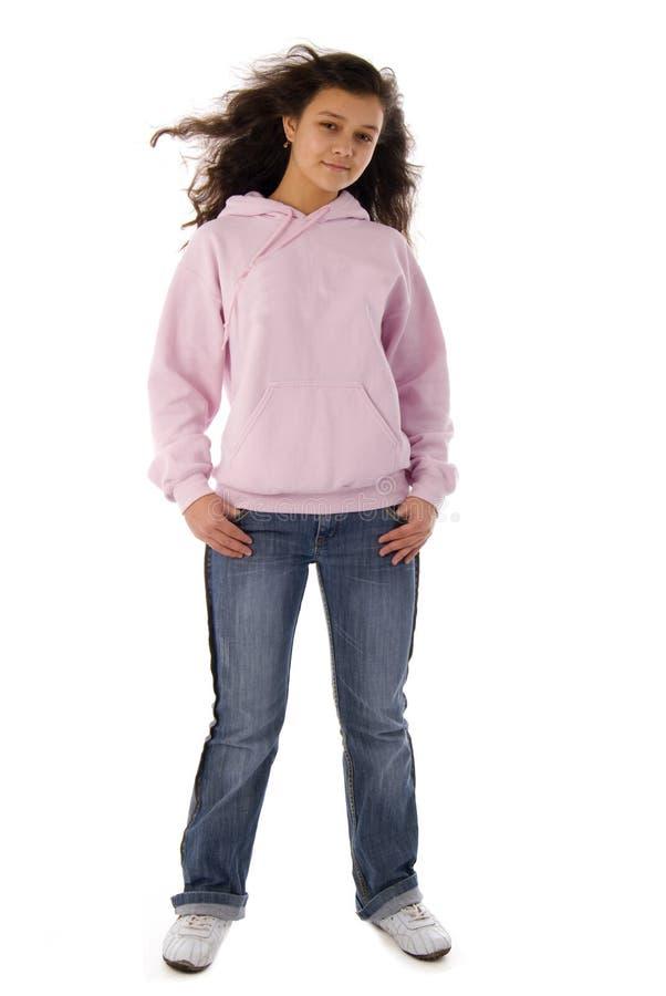 różowy dziewczyna nastolatek obraz royalty free