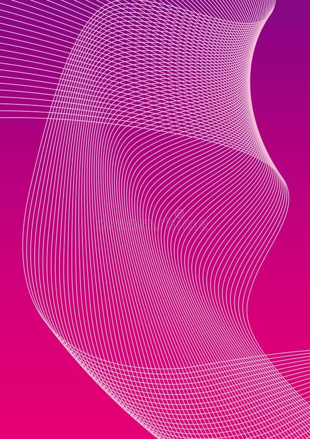 różowy fondo10b ilustracja wektor
