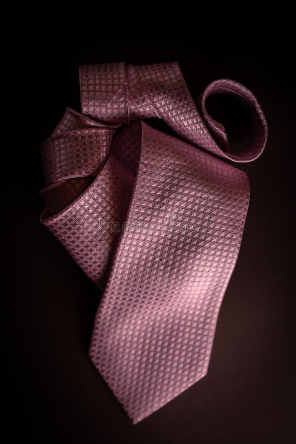 Różowy krawat zdjęcia stock