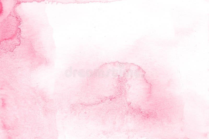 Różowy kreatywnie kwiat akwareli tekstury tło, piękna kreatywnie planeta obrazy royalty free