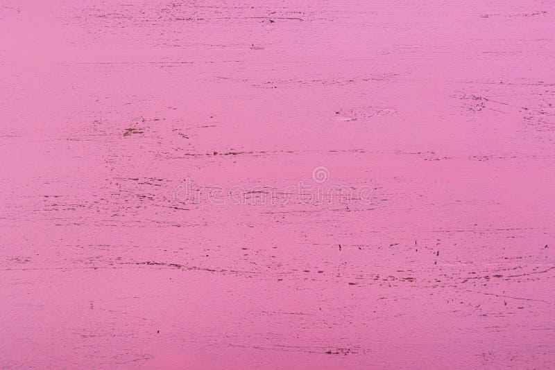 Różowy nieociosany drewniany tło obrazy royalty free