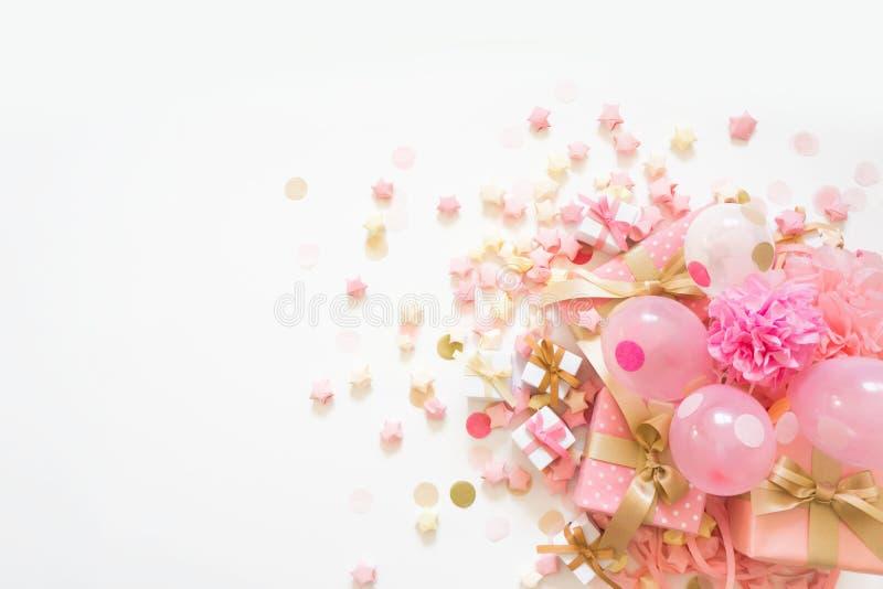 Różowy Partyjny tło obrazy stock
