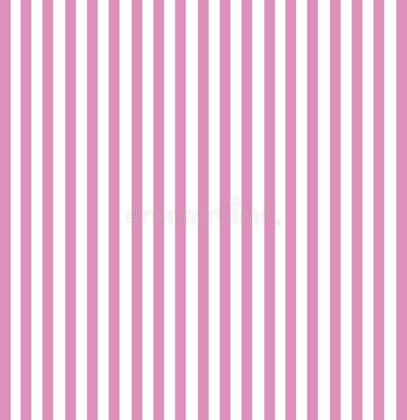 różowy paski ilustracja wektor