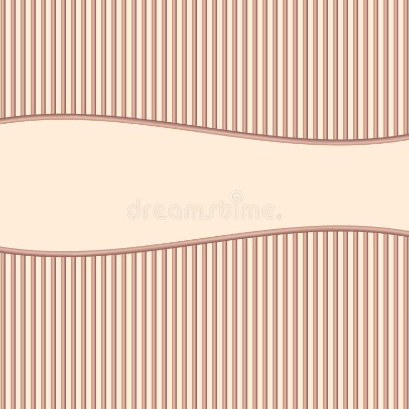 różowy paskować tło ilustracji