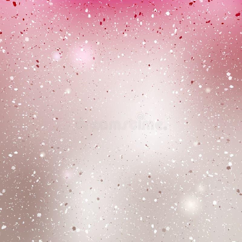 Różowy perełkowy błyszczący tło ilustracja wektor