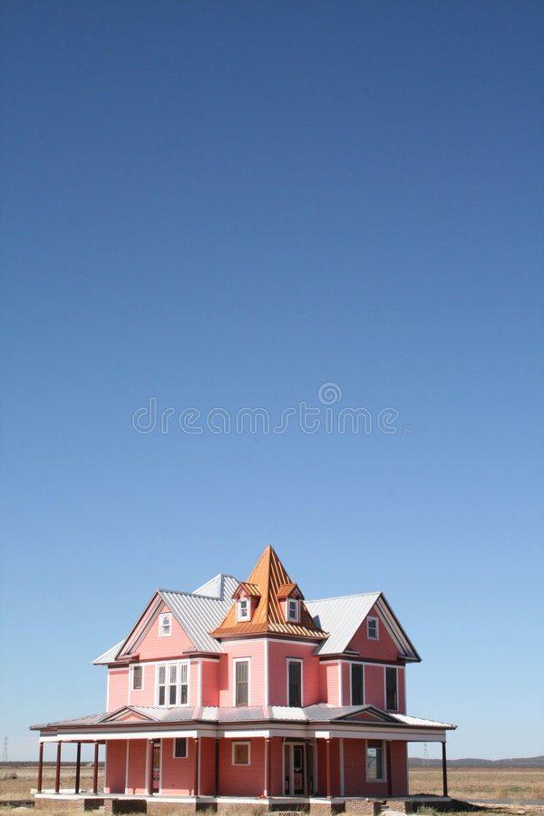 różowy pokój w domu tekstu wiktoriańskie fotografia royalty free