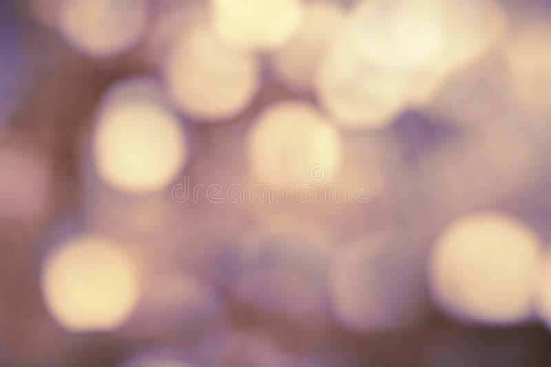 Różowy purpur i koloru żółtego bokeh tło, abstrakcjonistyczna miękka ostrość obrazy royalty free