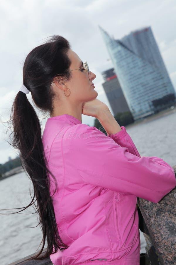 Różowy Ryski zdjęcie royalty free