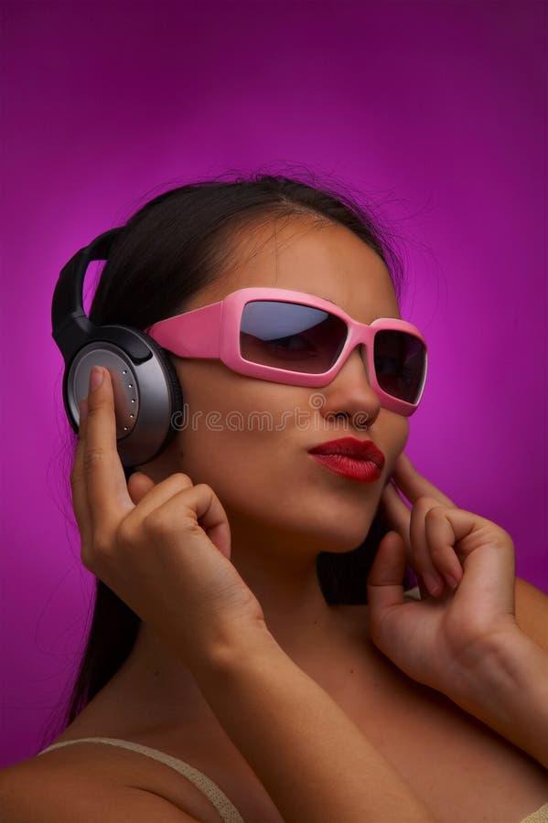 różowy rytm zdjęcia stock