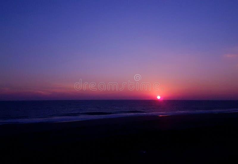 różowy słońca obrazy royalty free
