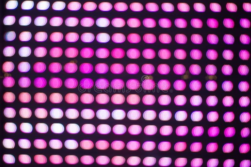 Różowy skutek robić bokeh tła kopii abstrakcjonistyczną przestrzenią Żywy abstrakt i kolorowy psychodeliczny tło fotografia stock