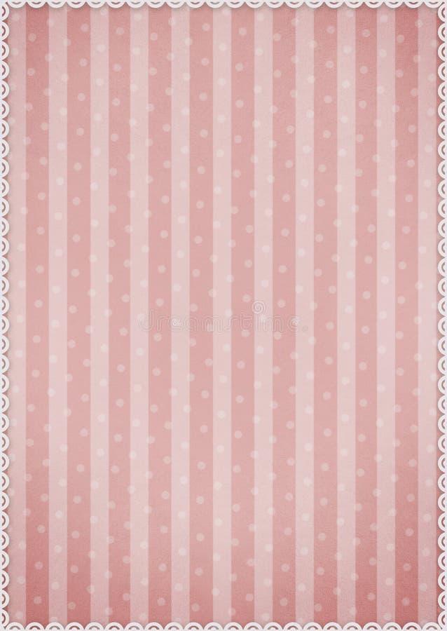 Różowy tło royalty ilustracja