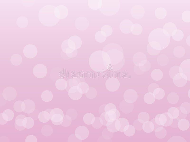 różowy tło cukierki ilustracja wektor