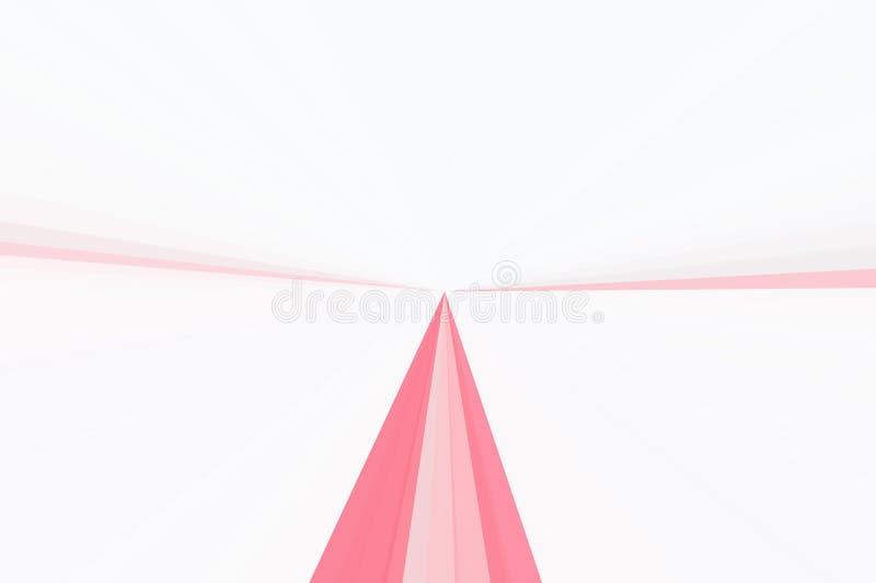 Różowy tło promienia promienia światło jaskrawy royalty ilustracja