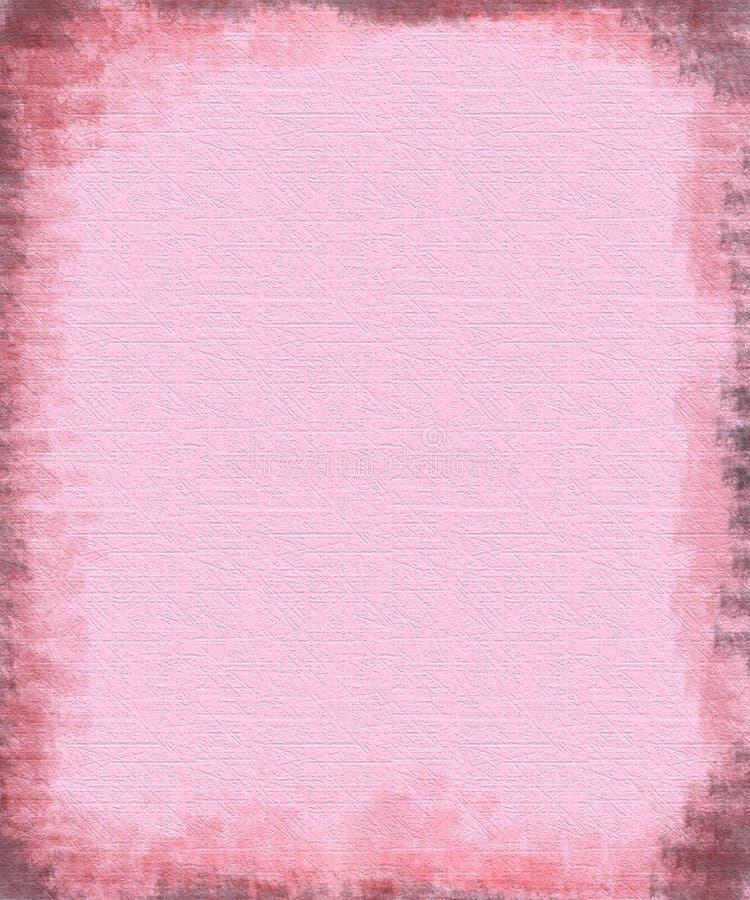 różowy textured tło papieru royalty ilustracja