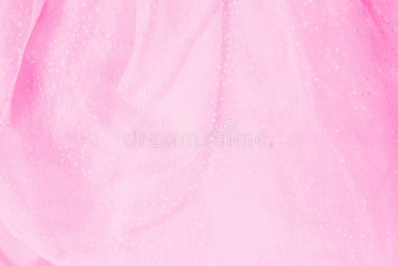 różowy tiul zdjęcia stock