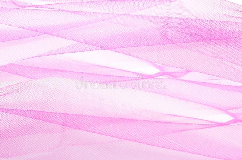 Różowy tiul obraz stock