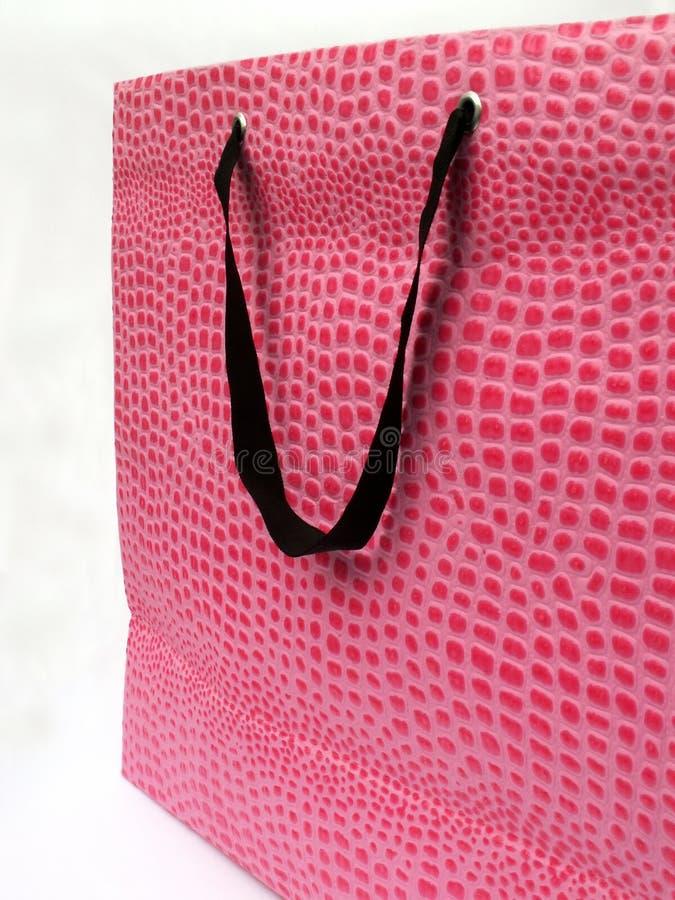 różowy toreb, obraz stock