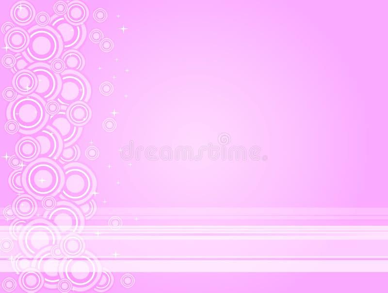 różowy twilightabstract ilustracja wektor