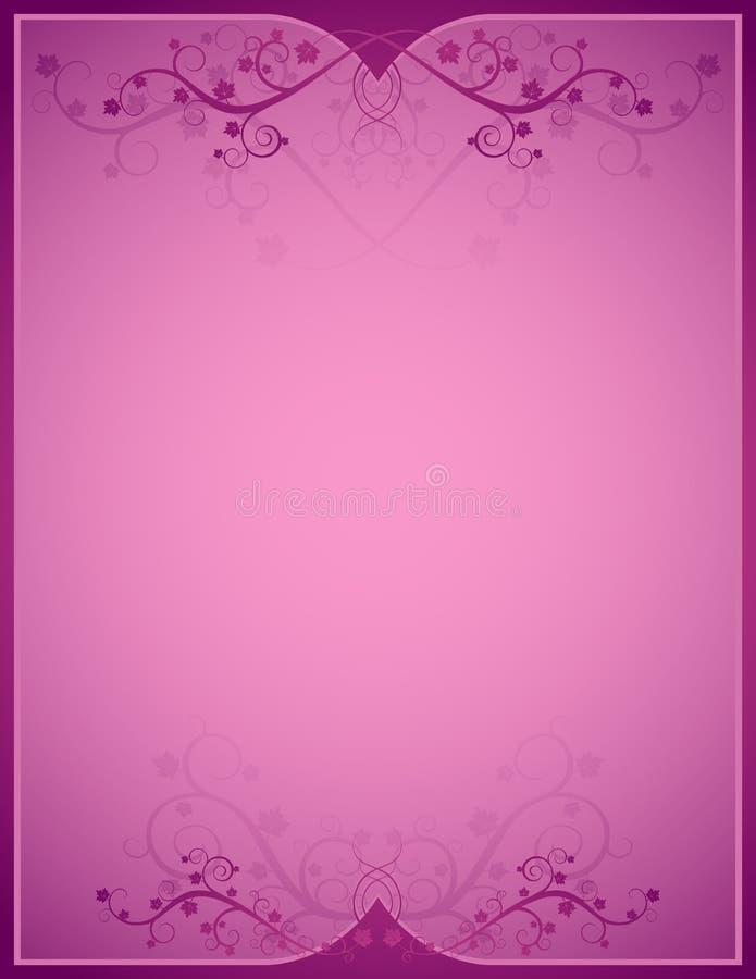 różowy vetor tła royalty ilustracja