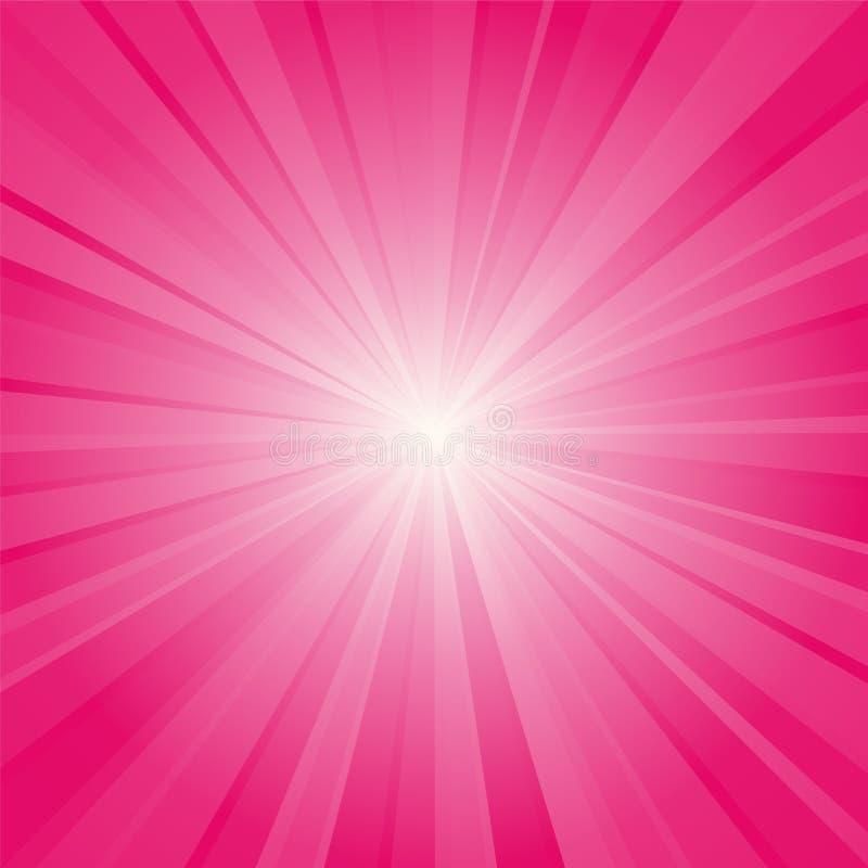różowy wiązki tło royalty ilustracja