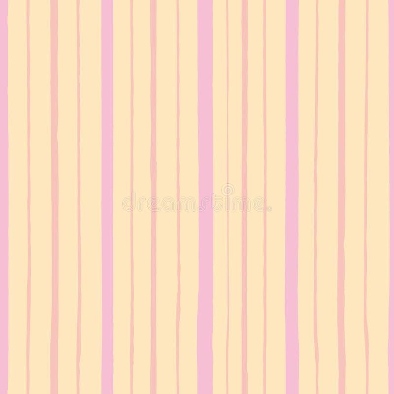 Różowy wzór z lampasem ilustracja wektor